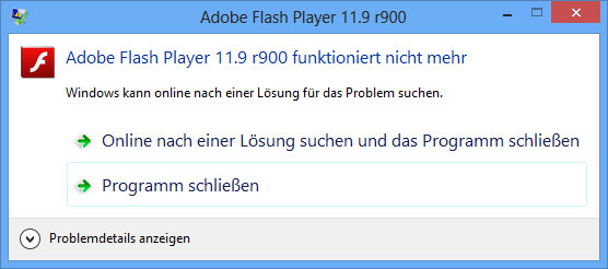 Adobe.Flash.crashed