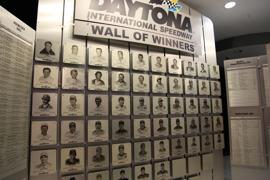 Daytona Int. Speedway Hall of Fame
