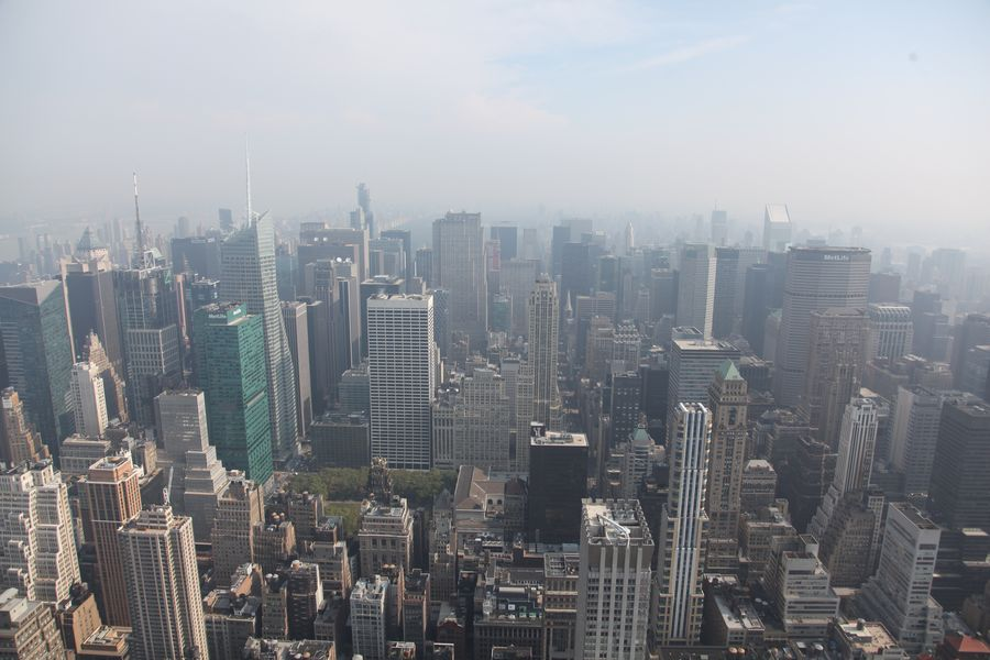 Empire State Building Ausblick