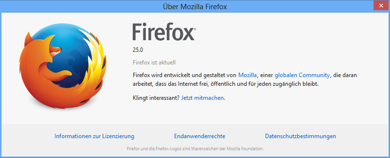 Firefox.Version.25