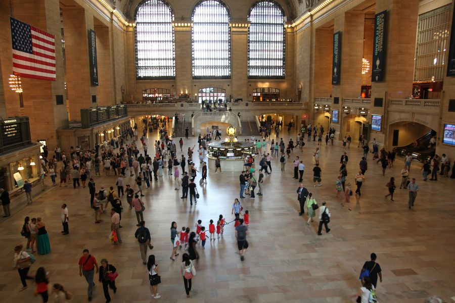 Grand Central Terminal Haupthalle