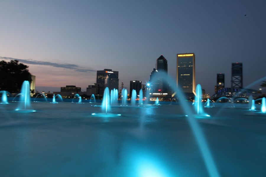 Jacksonville Friendship Fountain nah