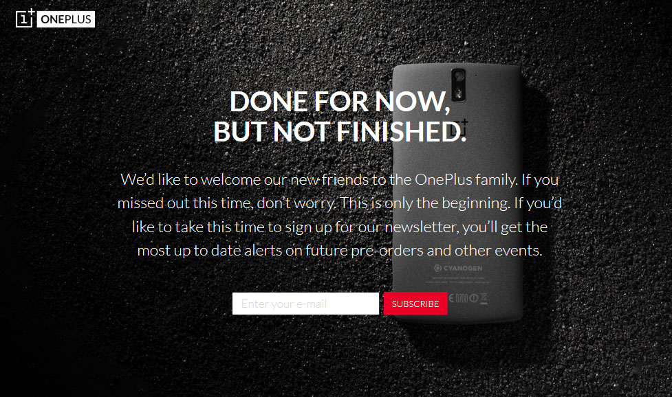 oneplus.one.done.for.now